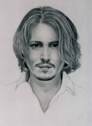 Johnny Depp by pamelakaye